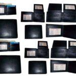 12-Mans-Leather-Wallet-12-Credit-card-Holder-2-ID-Bifold-Black-Unbranded-nwt-264787759332