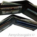 2-Italian-Style-lizard-Printed-Leather-mans-bi-fold-wallet-2-billfolds-8-card-264752398984-4