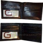 2-Italian-Style-lizard-Printed-Leather-mans-bi-fold-wallet-2-billfolds-8-card-264752398984-9