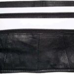 2-Flat-Leather-waist-pouch-waist-bag-leather-bag-Fanny-pack-Flat-pack-BNWT-264787759209-8